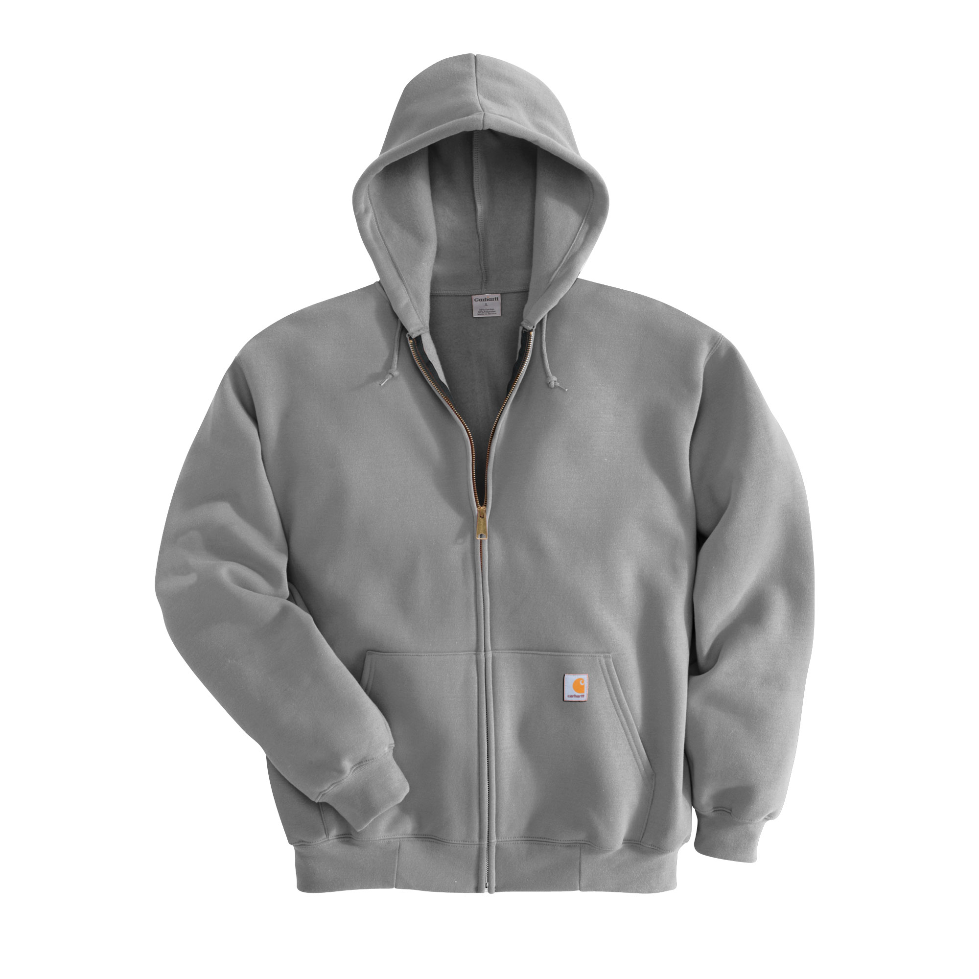 Carhartt Midweight Zip-Front Hooded Sweatshirt - Navy