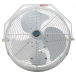 DURAFAN Indoor/Outdoor Wall Mount Fan - 18 inch - Non-Oscillating - White