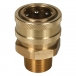 Brass Socket Male Thread - 3/4 inch - View 2