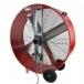 MaxxAir 42 inch Belt Drive Barrel Fan Back
