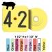 Allflex Piglet Tag (Numbered) - 25/Bag