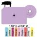 Allflex® Integra™ Hog Male - 25/Bag