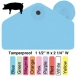 Allflex Global Tamperproof Hog Male Ear Tag - 25/Bag