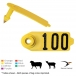 Destron Fearing Duflex Sheep and Goat Ear Tag (Numbered) 25/Bag