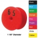 Y-Tex Round Button Tag (Numbered) 25/Bag