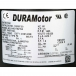 DURAMotor Circulating Fan and Pedestal Motor - 1/3 HP - Label