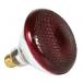 Infrared Heavy Duty Hard Glass Heat Bulbs - 175 Watt (Red Glass)