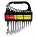 9 Piece Metric Combo Wrench Set 7 - 19mm