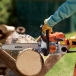 STIHL MS 170 Chainsaw In Action