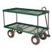 Double Deck Metal Utility / Garden Wagon
