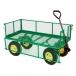 Metal Deck Wagon with Fold Down Racks