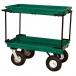 Plastic Double Deck Garden Utility Cart