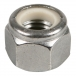 Stainless Nylon Lock Nut - 1/2 inch