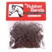 Rubber Bands for Mane and Tail Braiding - Brown