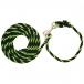 Weaver Leather Adjustable Poly Livestock Neck Rope - Lime Green Black