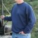 Hanes Midweight Sweatshirt - Navy