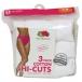 Fruit of the Loom® Ladies' Hi-Cut Cotton Underwear