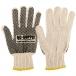 Single Side PVC Dot String Knit Gloves