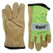 Kinco® Hi-Vis Mesh & Grain Pigskin Palm Gloves