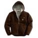 Carhartt Men S Sandstone Sierra Jacket Sherpa Lined Jacket