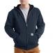 Carhartt® Rain Defender® Rutland Thermal-Lined Hooded Zip-Front Sweatshirt