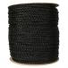 Polypropylene 3/8 inch x 1000' Black Braid Rope
