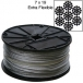 Galvanized Cable by THE ROLL - 7x19 - 250 ft