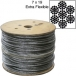 Galvanized Cable by THE ROLL - 7x19 - 1,000 ft