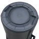 Rubbermaid BRUTE Round Container 32 Gallon - Bottom View