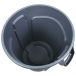 Rubbermaid BRUTE Round Container 32 Gallon - Inside View
