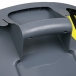 Rubbermaid BRUTE Round Container 32 Gallon - View of Handle