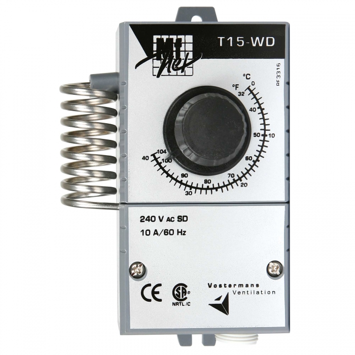 Multifan T15-WD Thermostat