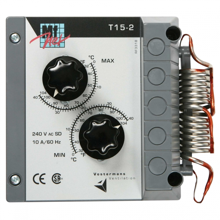 Multifan T15-2 Two Stage Thermostat