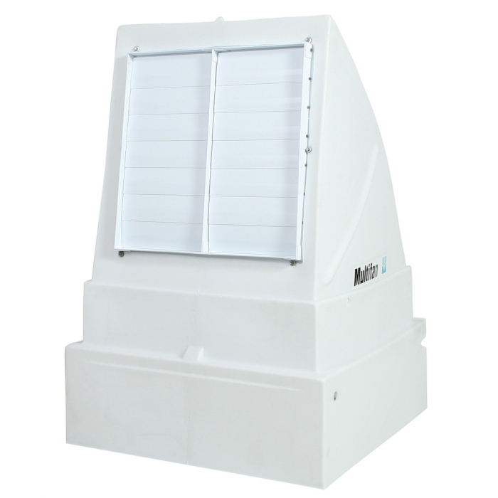 24 inch Multifan Poly Ground Transition Housing