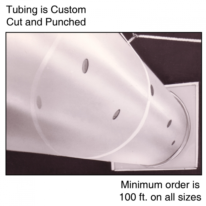25'' Polyethylene Ventilation Tubing