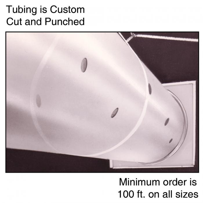 8 inch Polyethylene Ventilation Tubing