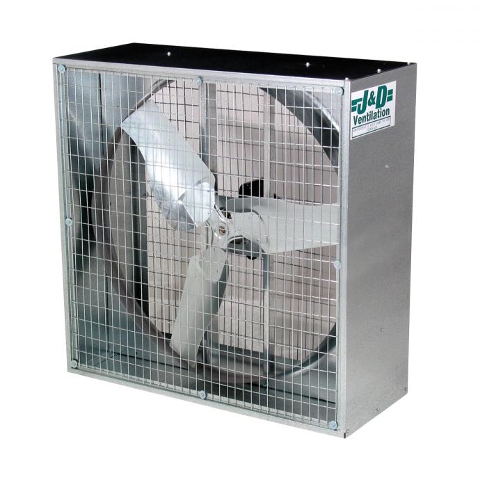 Whirl-Wind Box Fan - 50 inch Box Fan Drive-BD 3 Phase