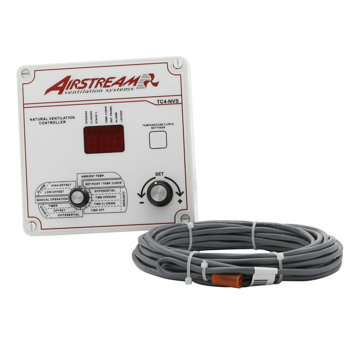 Airstream TC4 Series - Natural Vent Control