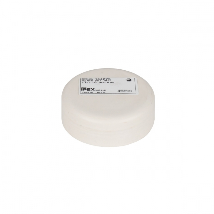 6 inch PVC End Cap for Duct and Pit Fan