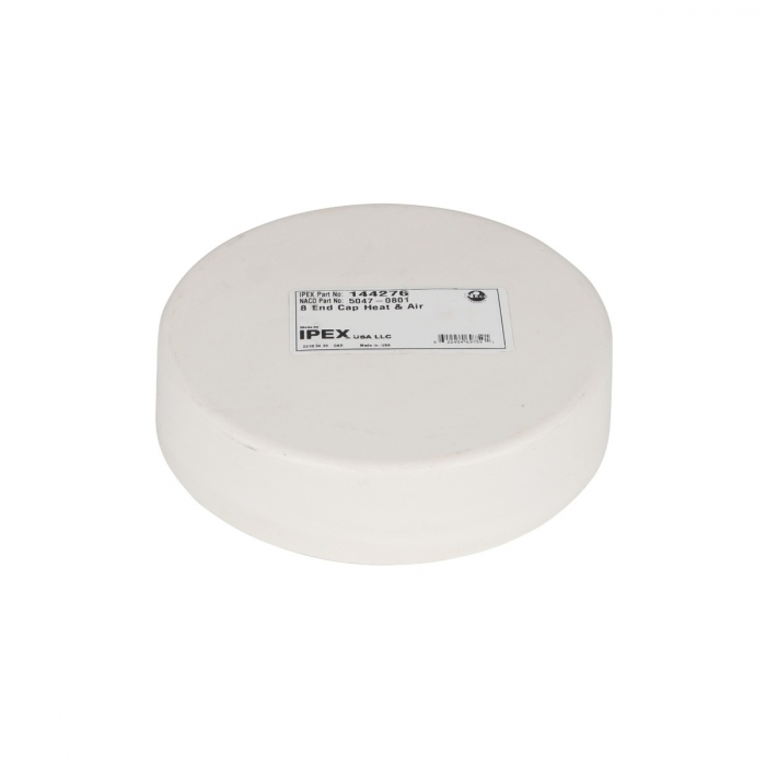 8 inch PVC End Cap for Duct and Pit Fan