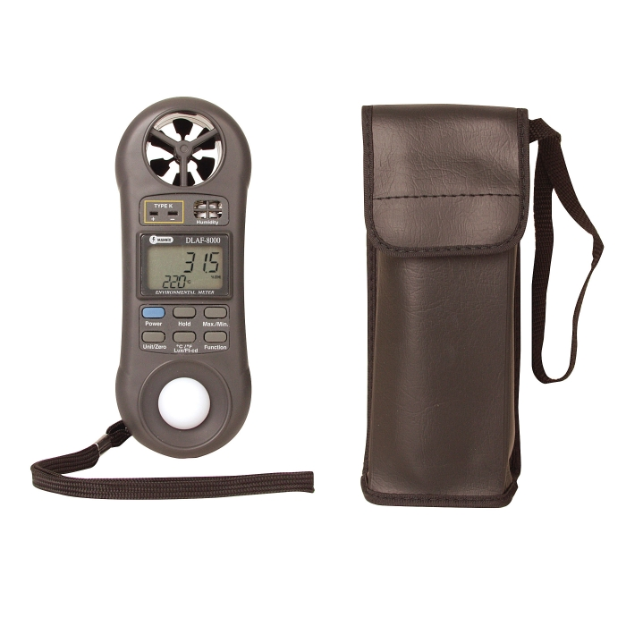 Environmental Meter with Case