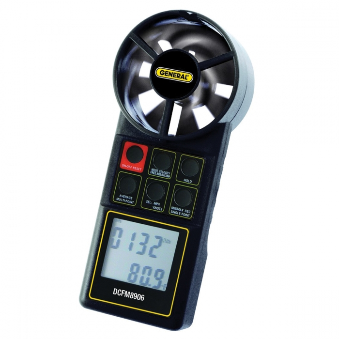 Digital CFM Meter
