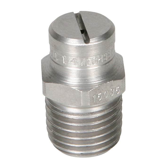 Stainless Steel Power Wash Spray Nozzles - 3.5 x 15 Degree - View 1