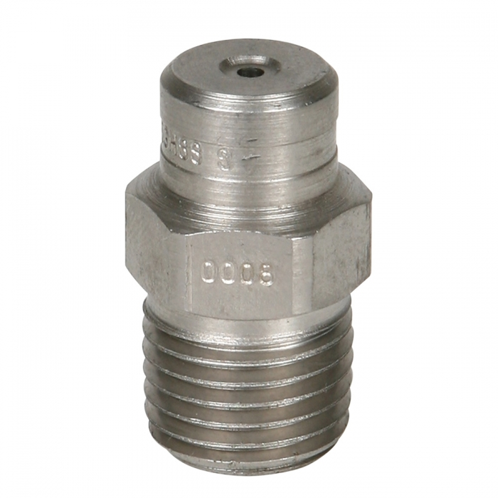 Stainless Steel Power Wash Spray Nozzles - 8 x 0 Degree - View 1