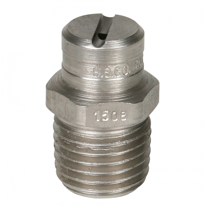 Stainless Steel Power Wash Spray Nozzles - 8 x 15 Degree - View 1
