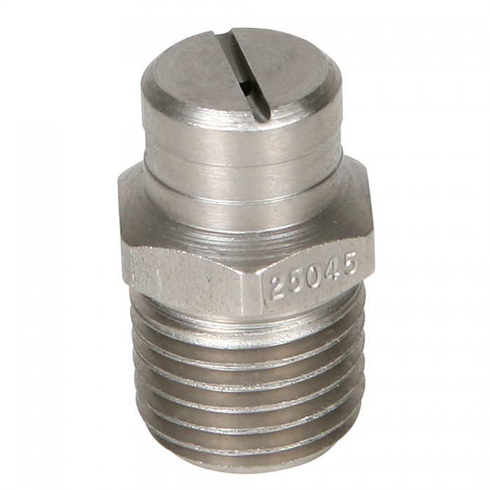 Stainless Steel Power Wash Spray Nozzles - 4.5 x 25 Degree - View 1