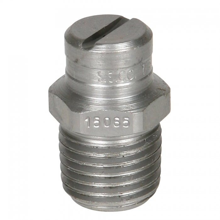 Stainless Steel Power Wash Spray Nozzles - 6.5 x 15 Degree - View 1