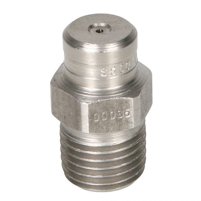 Stainless Steel Power Wash Spray Nozzles - 3.5 x 0 Degree - View 1
