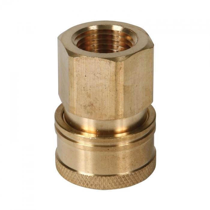 Brass Socket Female Thread - 1/2 inch