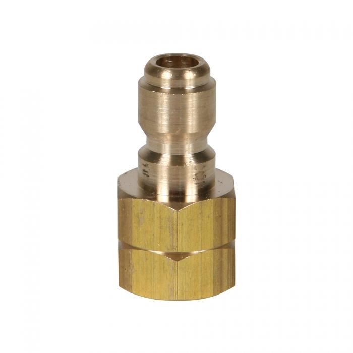 Brass Plug Female Threads - 1/4